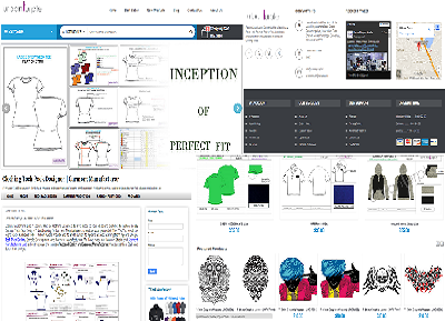 Clothing Designer Home Page